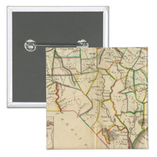 North Carolina 5 15 Cm Square Badge