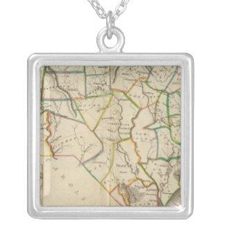 North Carolina 5 Silver Plated Necklace