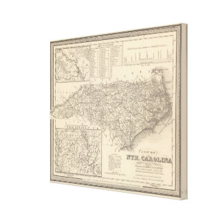 North Carolina 6 Canvas Print