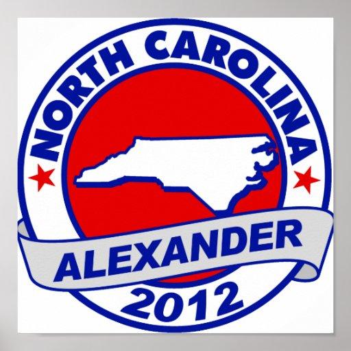 North Carolina Alexander Posters