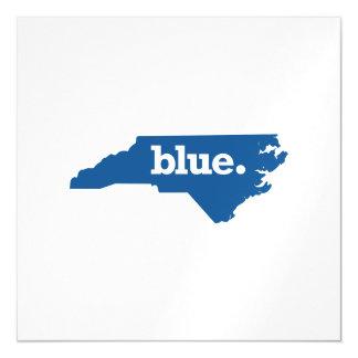 NORTH CAROLINA BLUE STATE MAGNETIC INVITATIONS