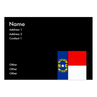 NORTH CAROLINA PACK OF CHUBBY BUSINESS CARDS