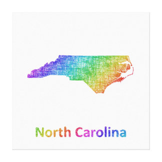 North Carolina Canvas Print