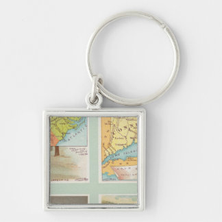 North Carolina, Connecticut, West Virginia, Ohio Key Ring