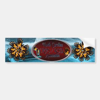 North Carolina CRPS/RSD Association Bumper Sticker Car Bumper Sticker