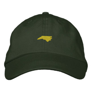 North Carolina Embroidered Hat