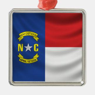 North Carolina Flag Christmas Ornament