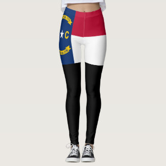 North Carolina flag Leggings