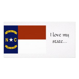 North Carolina Flag Photo Card Template