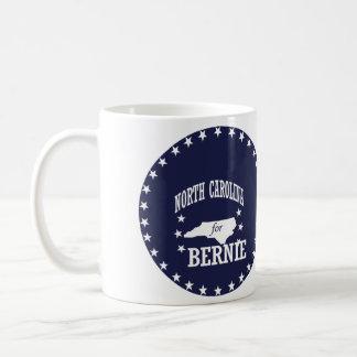 NORTH CAROLINA FOR BERNIE SANDERS COFFEE MUG