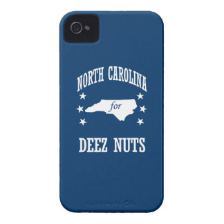 NORTH CAROLINA FOR DEEZ NUTS iPhone 4 COVERS