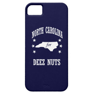 NORTH CAROLINA FOR DEEZ NUTS iPhone 5 COVERS