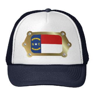North Carolina framed Flag Hat
