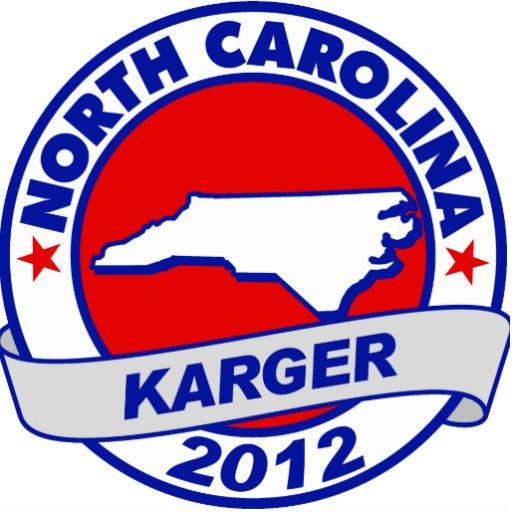 North Carolina Fred Karger Photo Cutouts