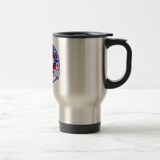 North Carolina Fred Karger Stainless Steel Travel Mug