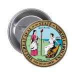 North Carolina Great Seal Button