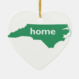 North Carolina Home Christmas Ornament