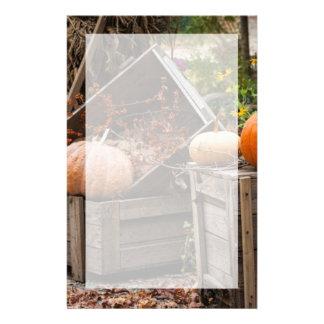 North Carolina, Linville, autumn pumpkins Custom Stationery