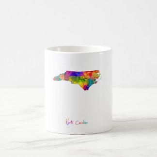 North Carolina Map Coffee Mug