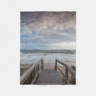 North Carolina, Outer Banks National Seashore 1 Fleece Blanket