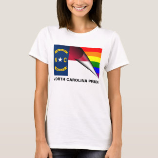 North Carolina Pride LGBT Rainbow Flag T-Shirt