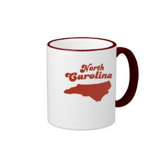 NORTH CAROLINA Red State Ringer Coffee Mug