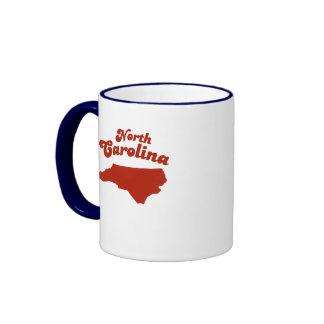 NORTH CAROLINA Red State Ringer Mug