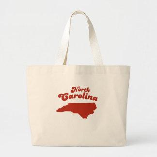 NORTH CAROLINA Red State Tote Bag