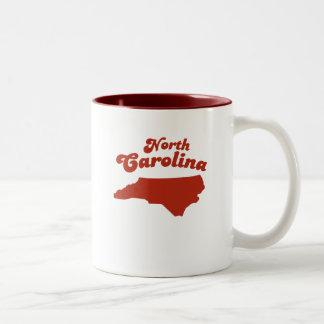 NORTH CAROLINA Red State Two-Tone Mug