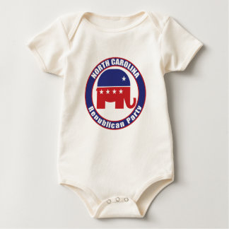 North Carolina Republican Party Baby Bodysuit