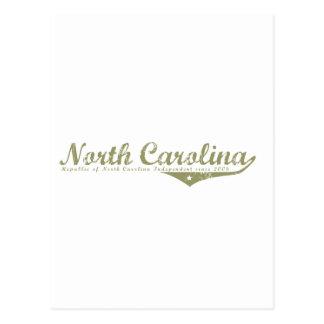 North Carolina Revolution T-shirts Post Cards