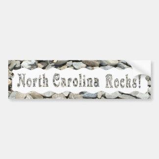 NORTH CAROLINA ROCKS-BUMPER STICKER