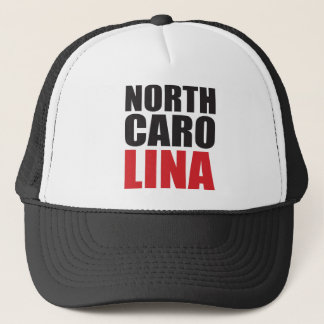 North Carolina Rocks! State Spirit Gifts and Appar Trucker Hat