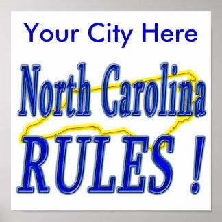 North Carolina Rules ! Print