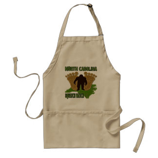 North Carolina Squatch Watch Standard Apron