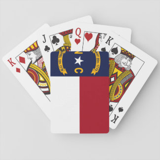 North Carolina State Flag Playing Cards