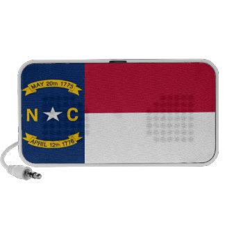 North Carolina State Flag Notebook Speaker