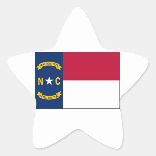 North Carolina State Flag Stickers