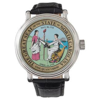 North Carolina state seal america republic symbol Watch