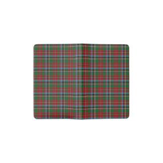 North Carolina State Tartan Pocket Moleskine Notebook