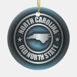 """North Carolina Steel 2"" Christmas Ornament"