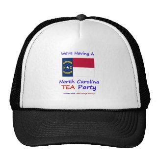 North Carolina TEA Party - Taxed Enough Already Trucker Hat