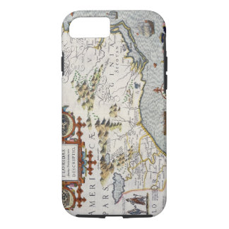 North Carolina, titled 'Virginiae item et Floridae iPhone 8/7 Case