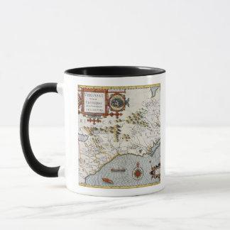 North Carolina, titled 'Virginiae item et Floridae Mug