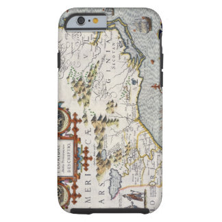 North Carolina, titled 'Virginiae item et Floridae Tough iPhone 6 Case