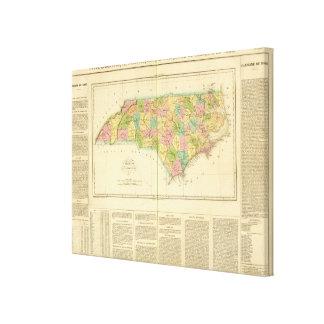 North Carolina US Canvas Print