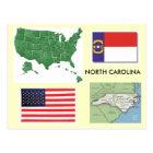 North Carolina, USA Postcard
