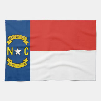 north carolina usa state flag towel
