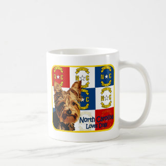 North Carolina Yorkie Coffee Mug
