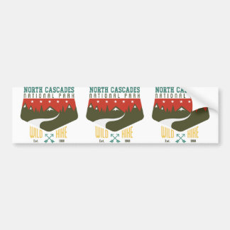 North Cascades National Park Bumper Sticker